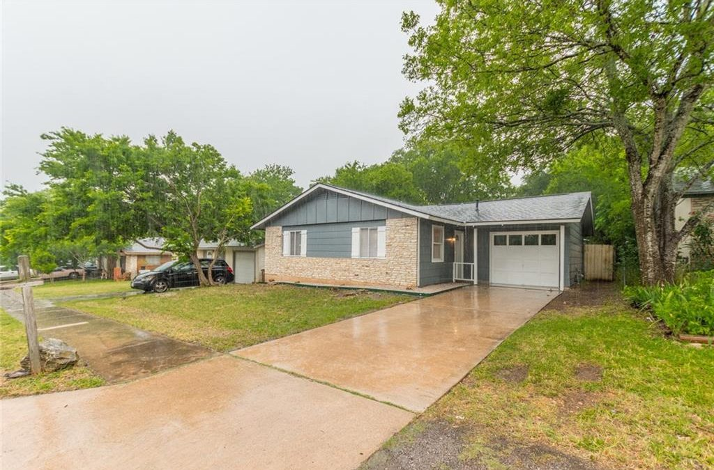 New Listing: Austin, 3 Bed, 1 Bath, Under 260K